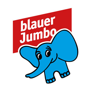 Blauer Jumbo